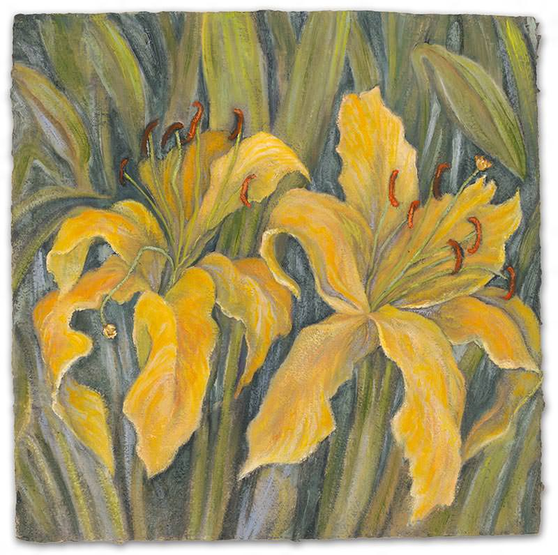 Golden Lily by Jane Abrams